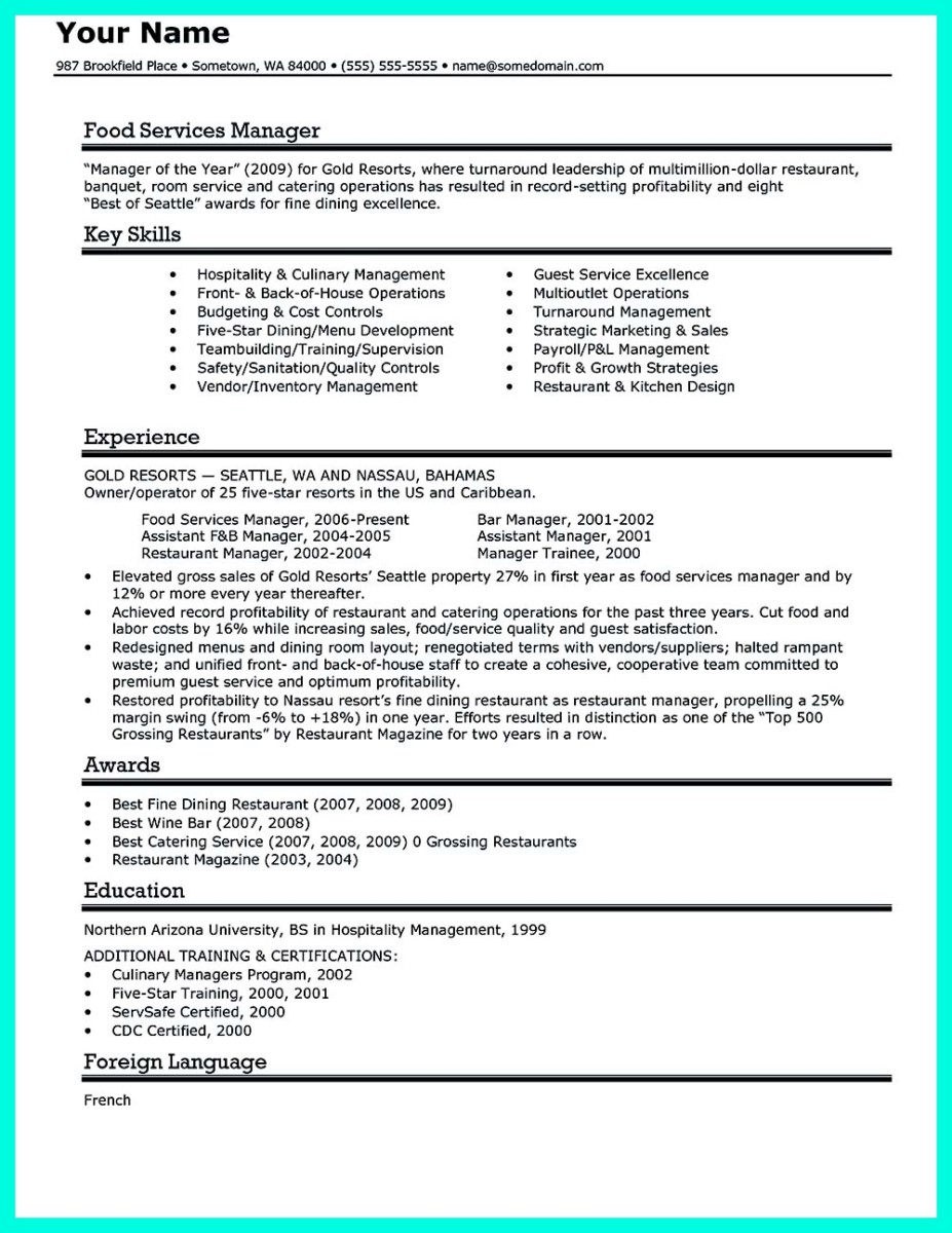 catering manager resume template and catering and events manager resume