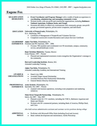 catering sales manager resume and assistant catering manager resume