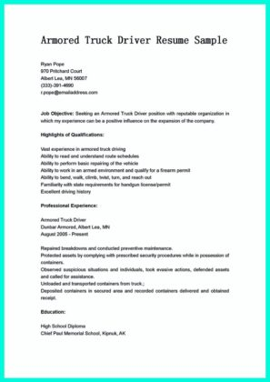 cdl driver resume objective and free sample cdl driver resume