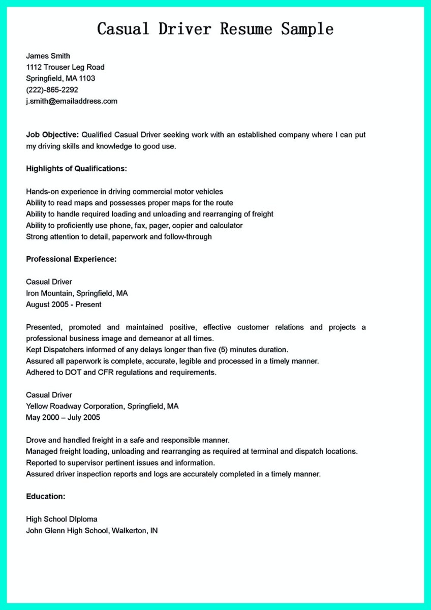 100+ [ Resume For Pharmacy Delivery Driver ] | Sample Of ...