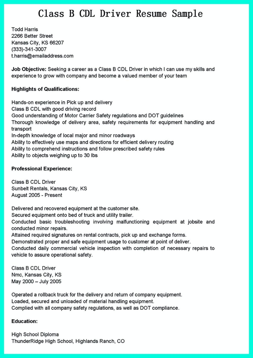 Driver Resume Resume Format Download Pdf Home Design Resume CV Cover Leter