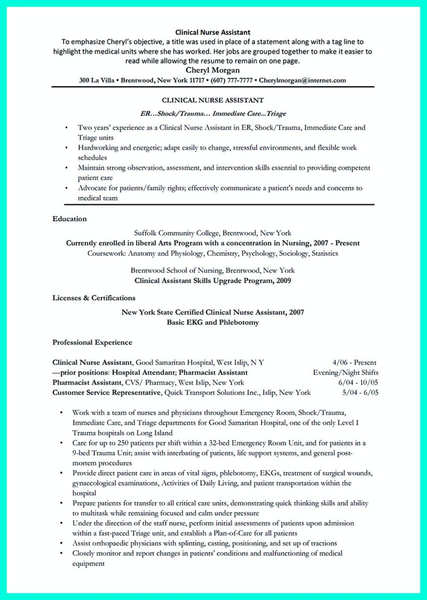 resume Nursing Assistant Resume plagiarism prevention quiz questions society for the teaching of resumes cna resume duties and responsibilities how sample customer service exle yoga