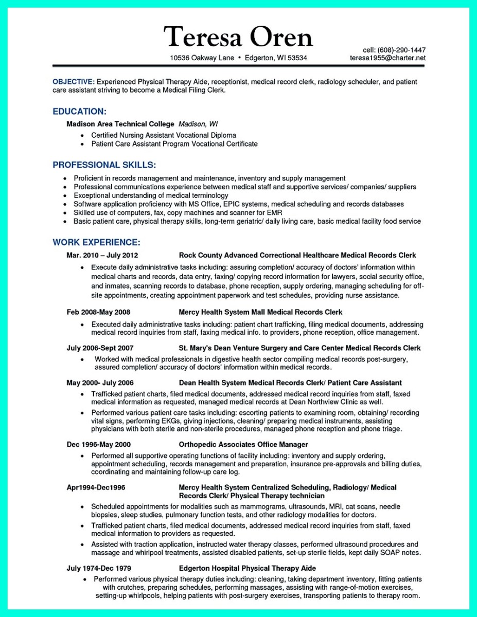 Snefci.org  Certified Nursing Assistant Resume Sample