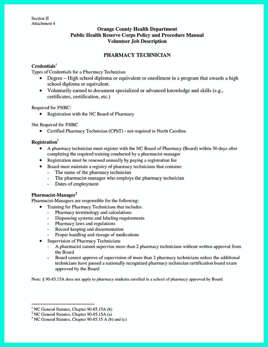 previous post - Sample Resume For Pharmacy Technician