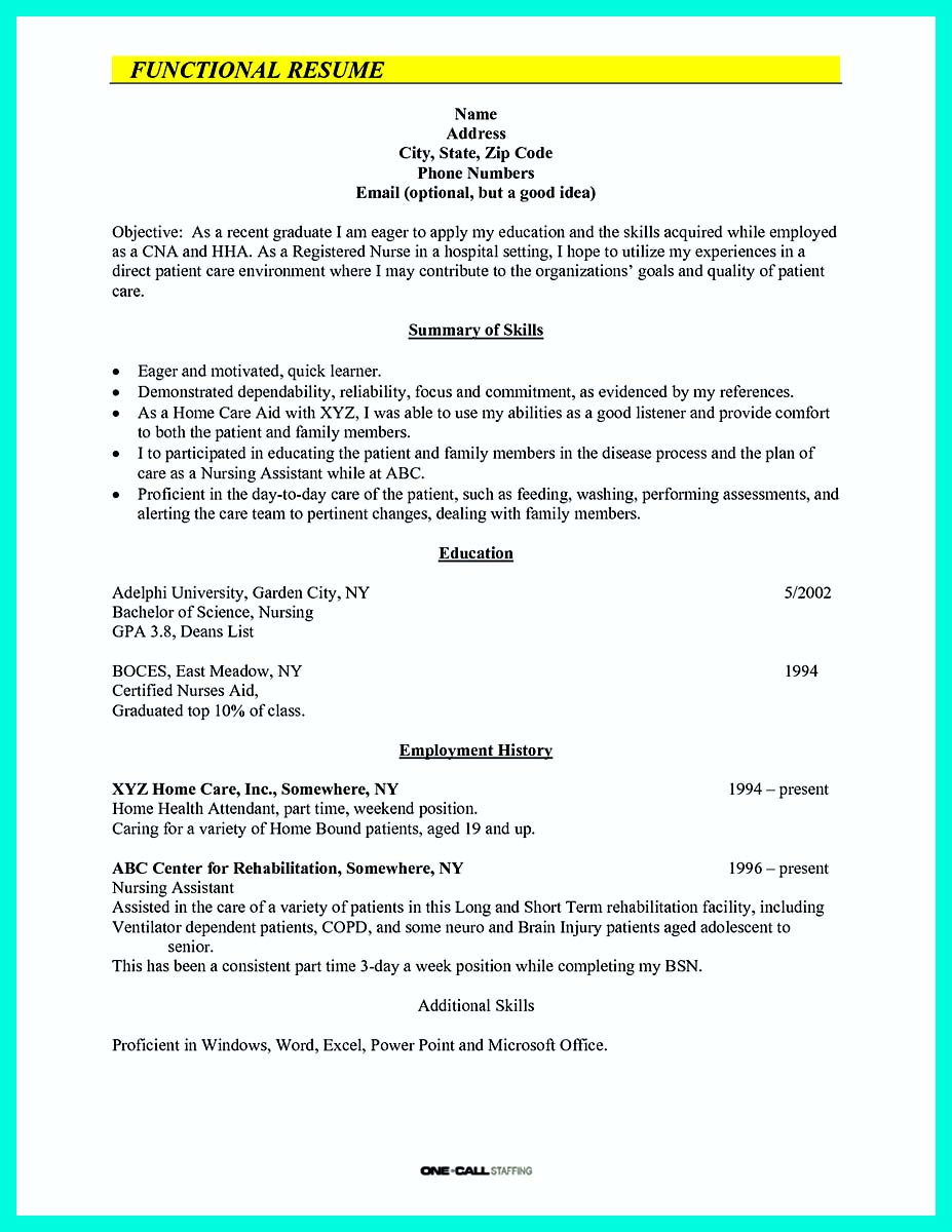 cna resume sample pdf_1