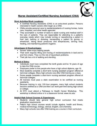 cna resume sample with no work experience_1