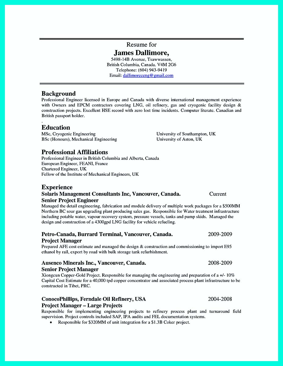 cnc machinist job resume