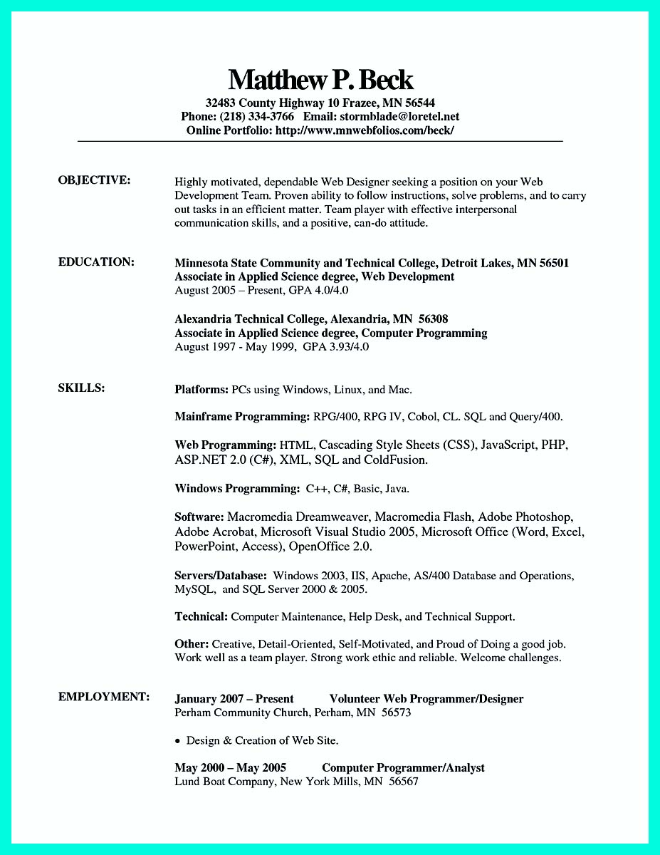 cnc machinist resume pdf
