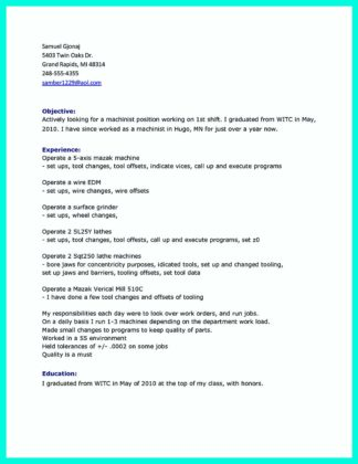 Writing Your Qualifications in CNC Machinist Resume? A Must!  %Image NameWriting Your Qualifications in CNC Machinist Resume? A Must!  %Image NameWriting Your Qualifications in CNC Machinist Resume? A Must!  %Image Name