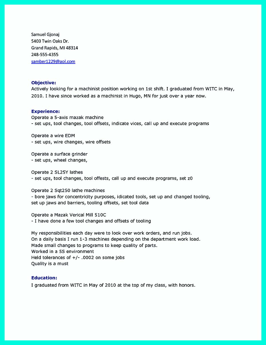 cnc machinist resume_002