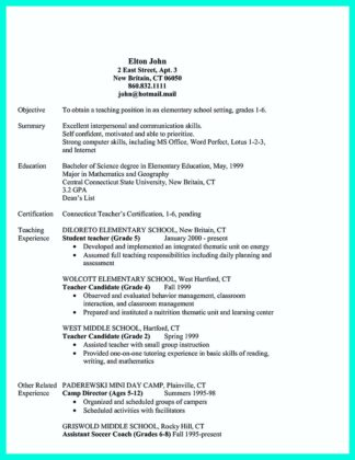 cocktail waitress job resume