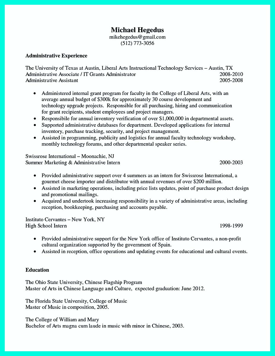 college application resume builder