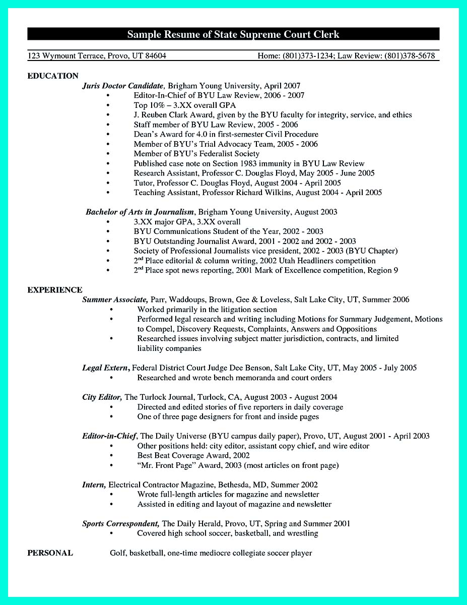 college golf combine resume_001