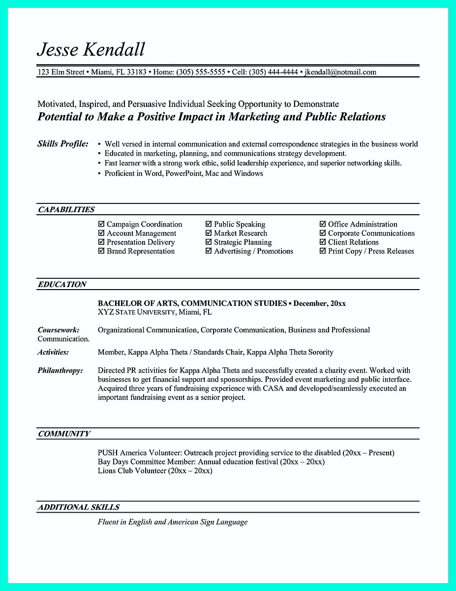 resume example of for college student with no job experience non credit courses