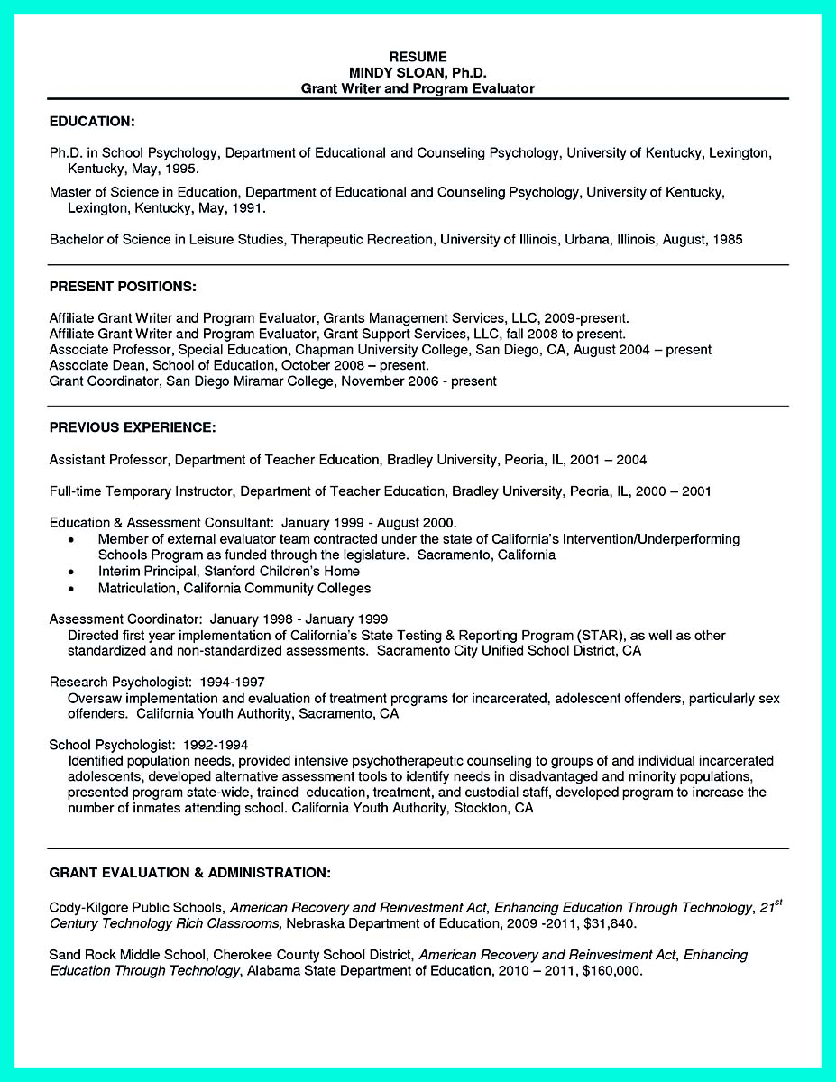 college graduate resume include high school