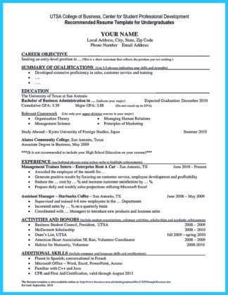 college student resume download
