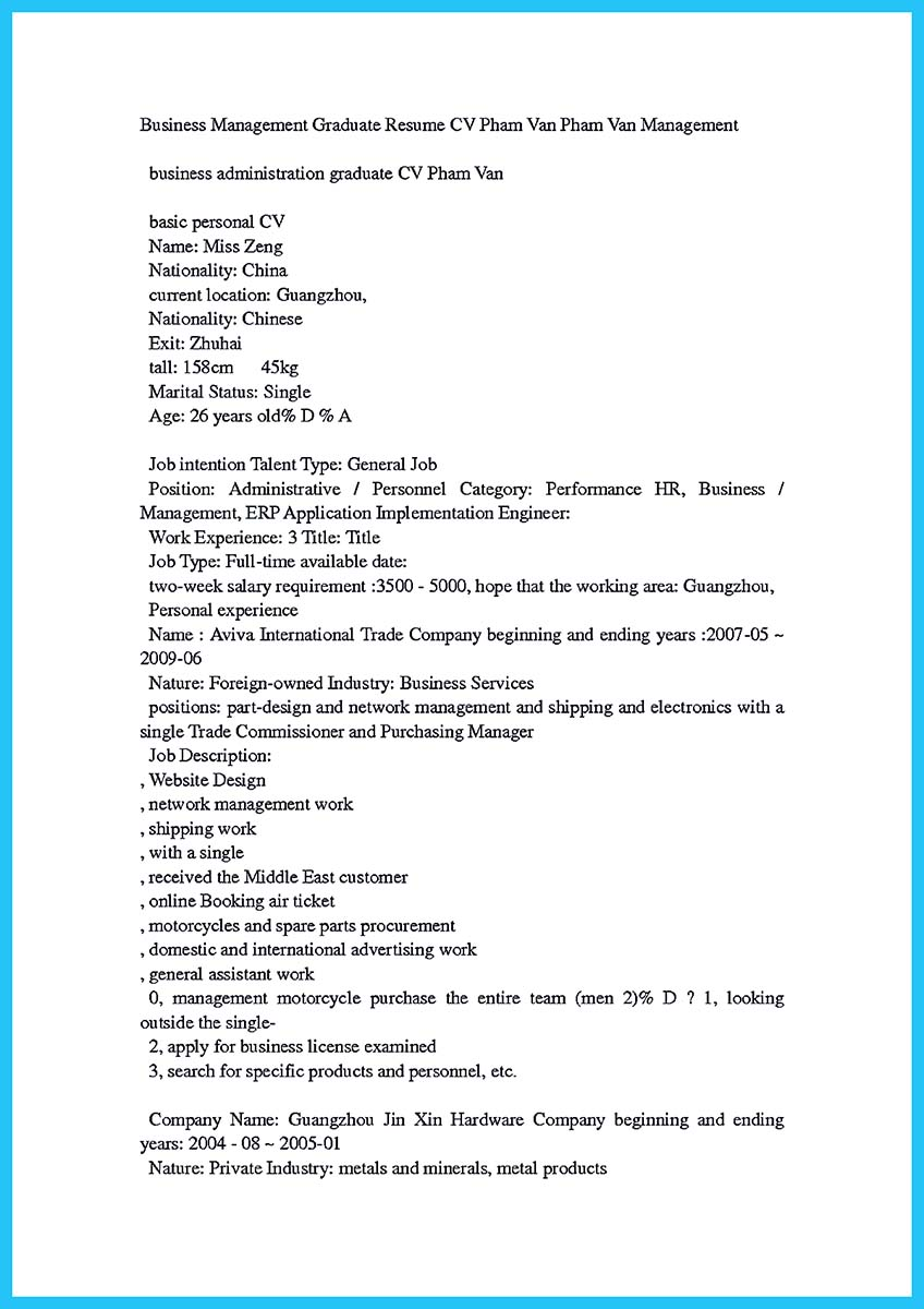 columbia business school resume book