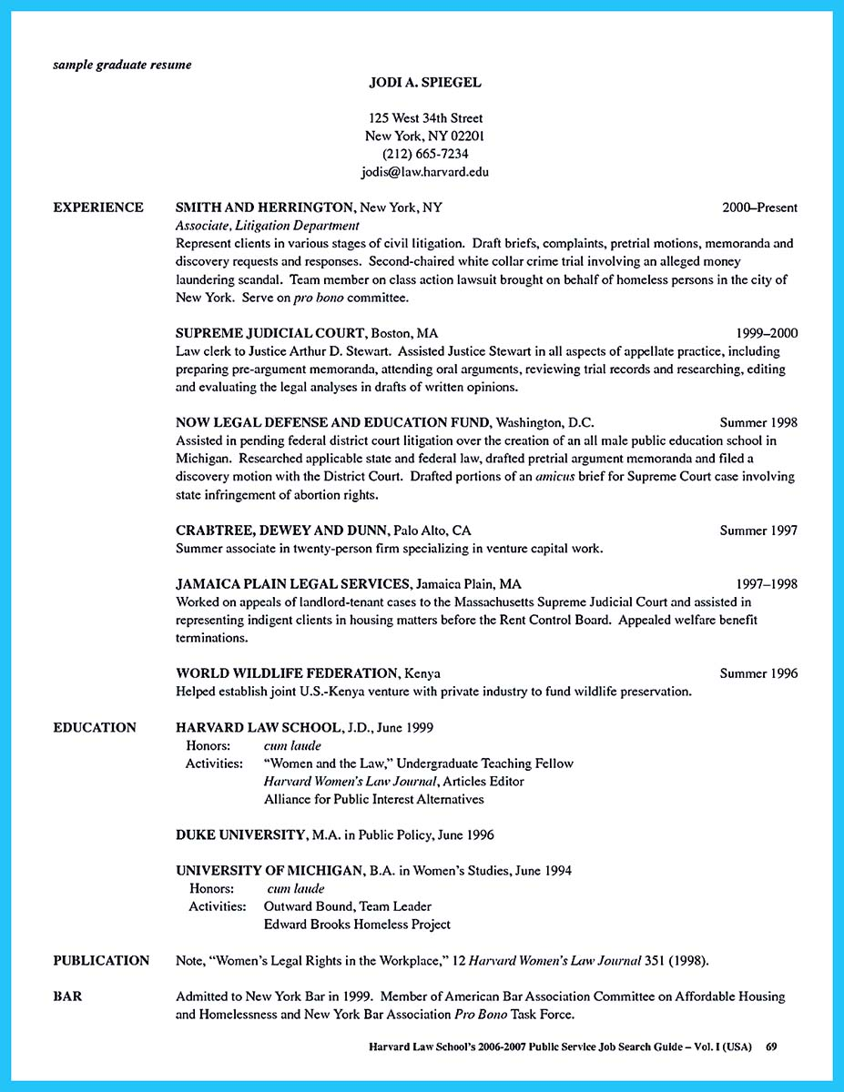 columbia business school resume template
