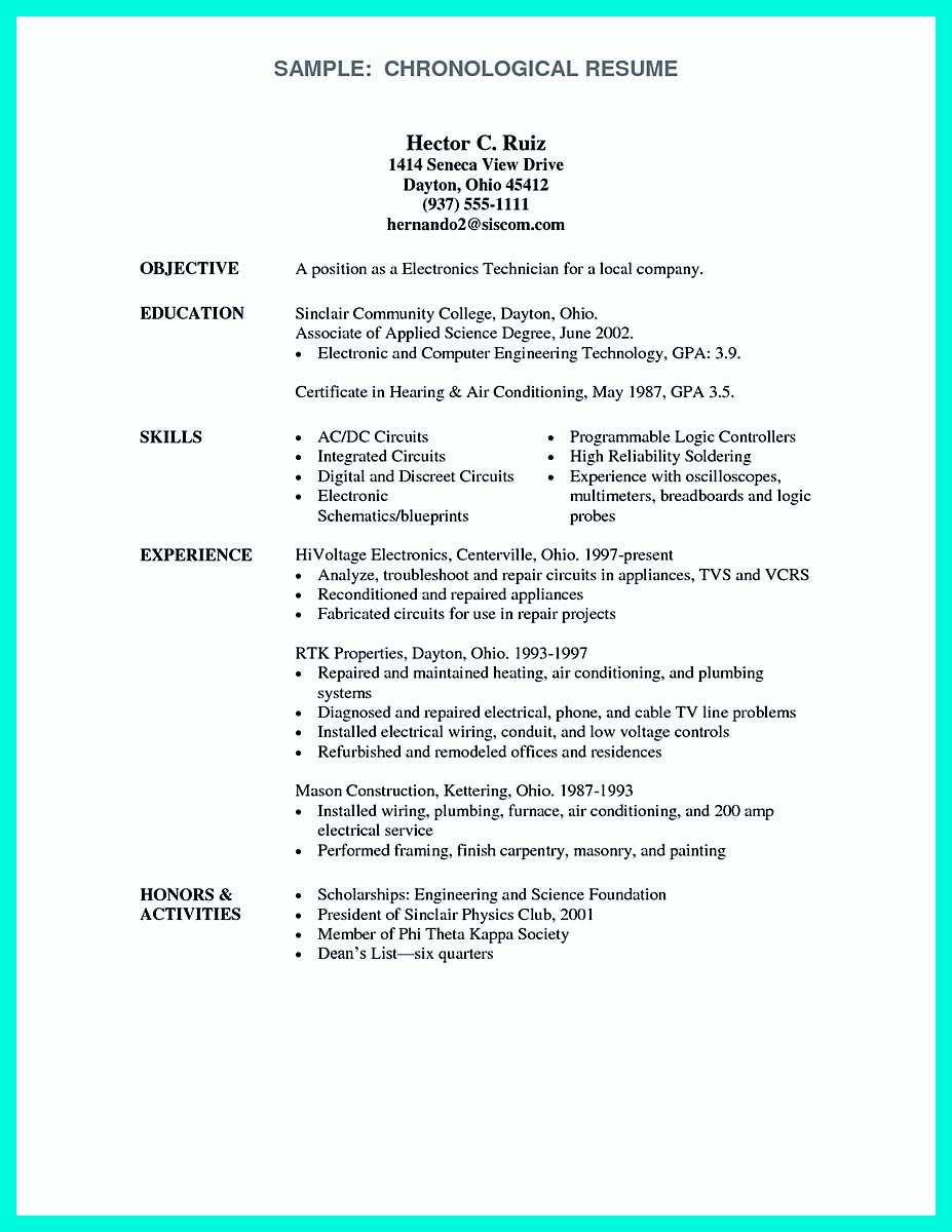 computer engineering resume for internship