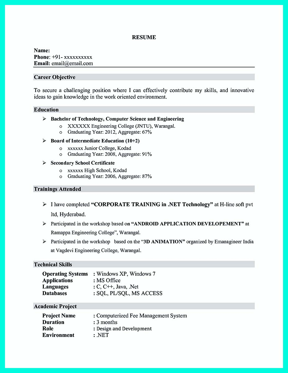 computer engineering resume samples