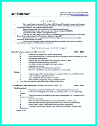 The Best Computer Science Resume Sample Collection | How To Write