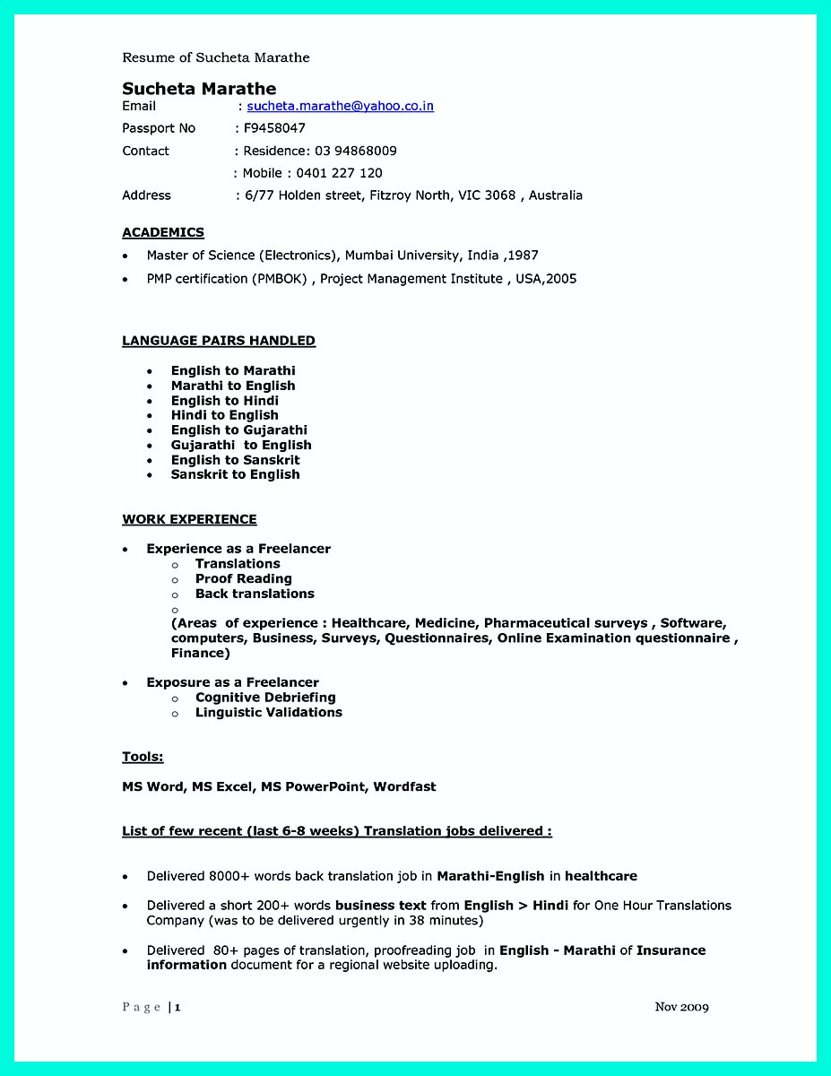 computer science resume summary