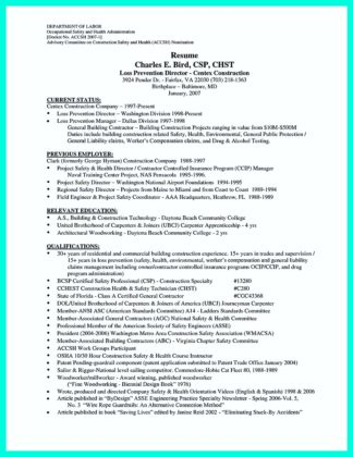 How Construction Laborer Resume Must Be Rightly Written | How To