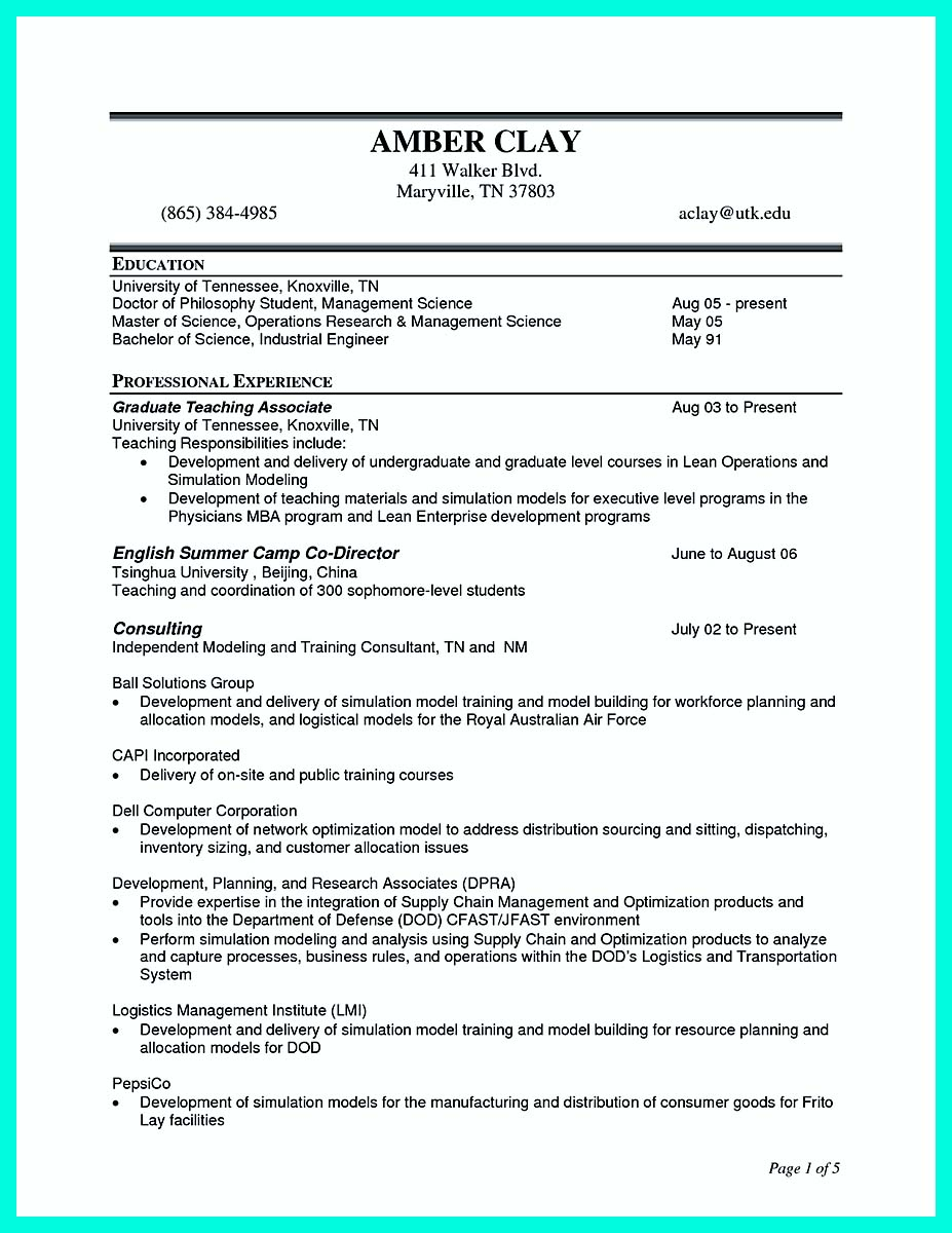 construction management resume cover letter