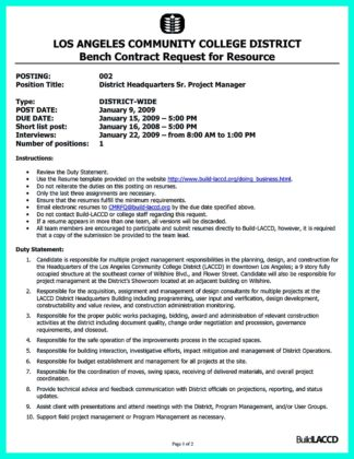 construction project manager resume skills