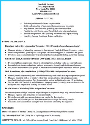 corporate banking credit analyst resume