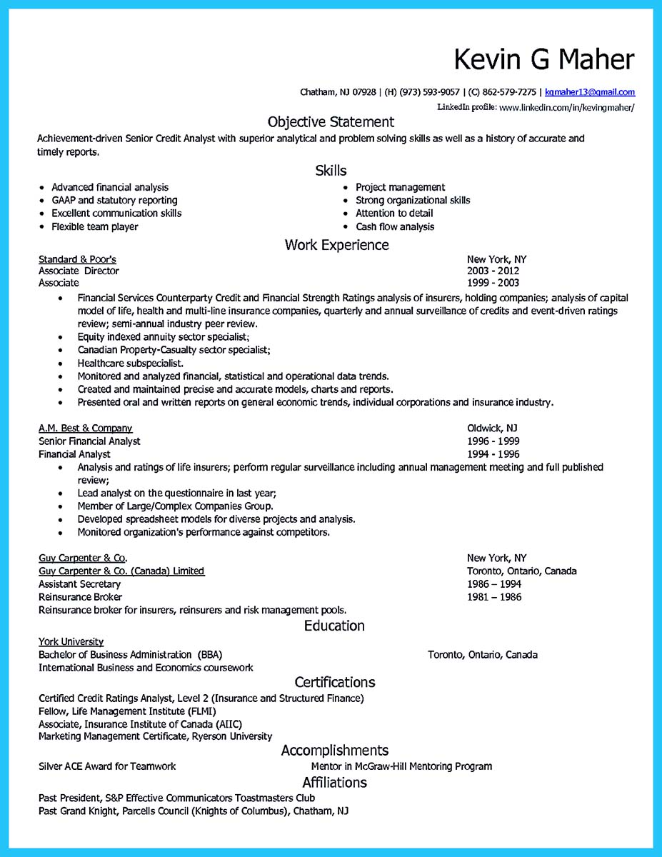 Credit Risk Analyst Resume Diamond Geo Engineering Services  Credit Analyst Resume Sample