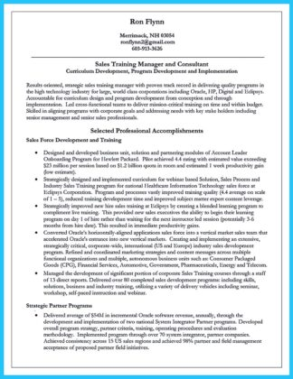 Brilliant Corporate Trainer Resume Samples to Get Job  %Image Name
