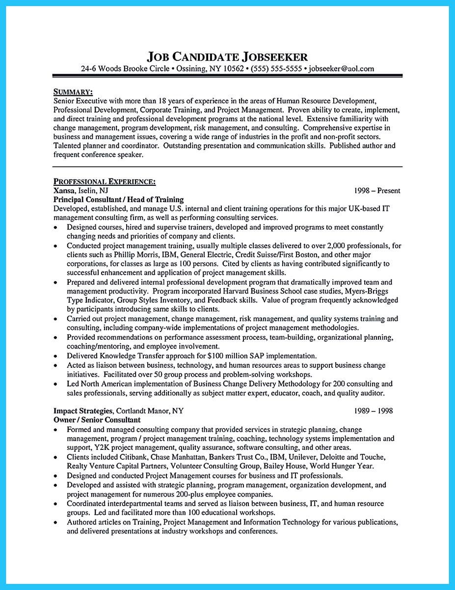 corporate trainer resume_1