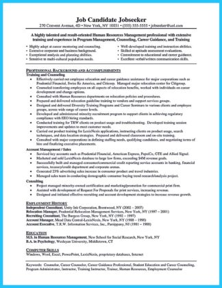Outstanding Counseling Resume Examples to Get Approved  %Image Name