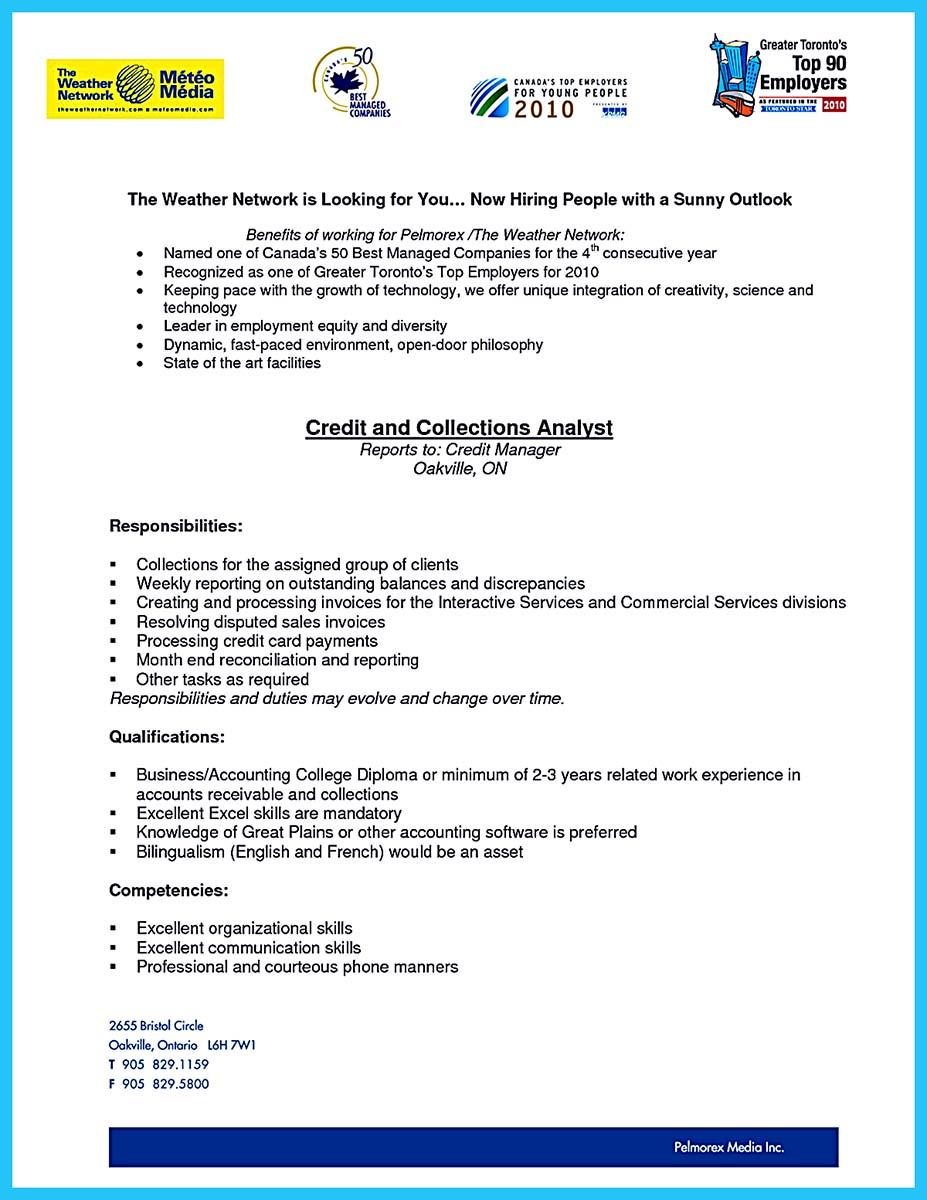 credit analyst resume indeed - Sample Credit Analyst Resume