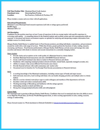 credit analyst resume tips