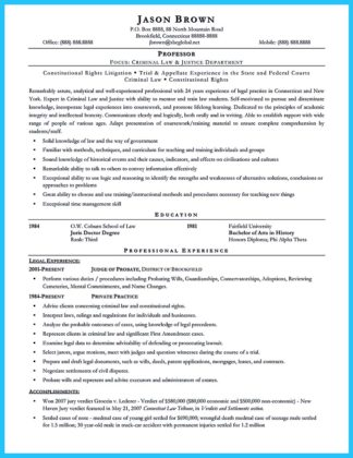 Best Criminal Justice Resume Collection from Professionals  %Image Name