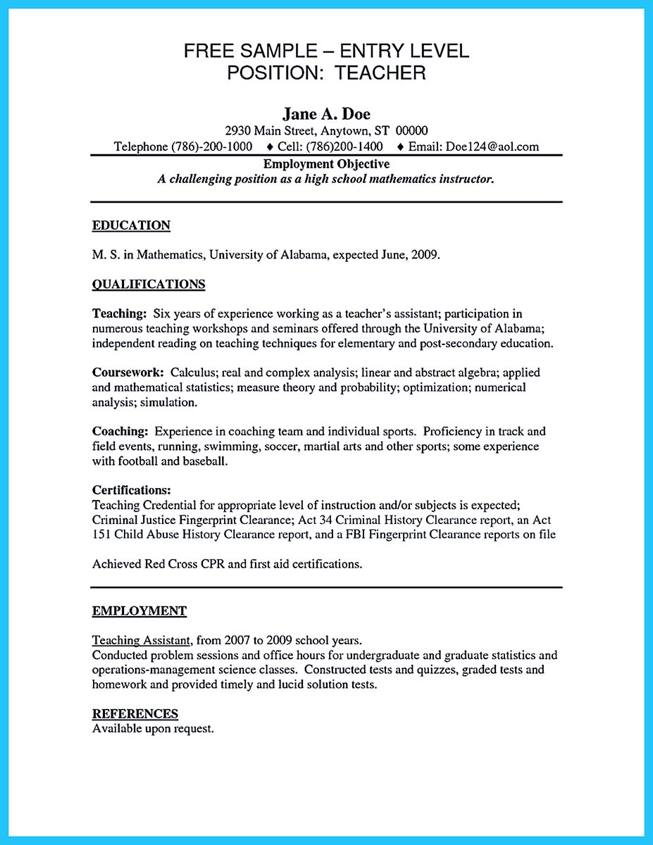 Resume Collection from Professionals  How to Write a Resume in Simple