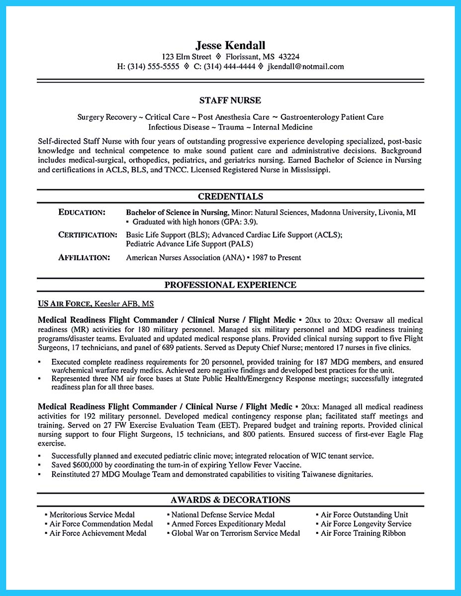 critical care nurse resume cover letter
