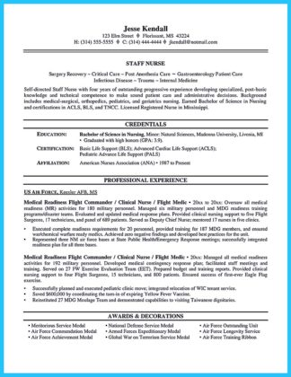 crna resume examples with no experience