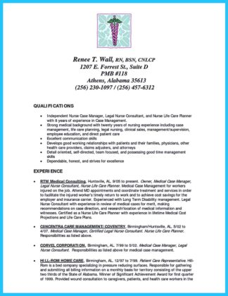 crna school resume objective