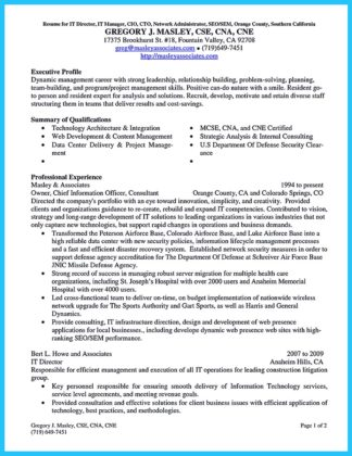 sample cto resume resume cv cover letter