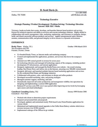 sample cto resume resume cv cover letter - Cto Resume Examples