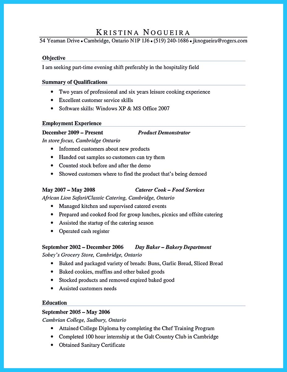 Image Result For Professional Summary On Resume
