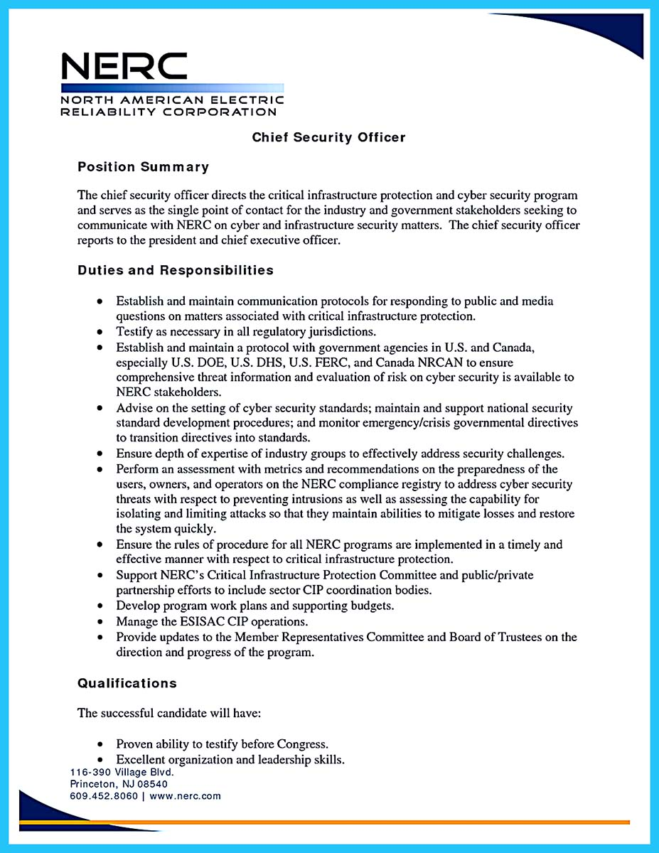 cyber security resume buzzwords - Information Security Resume