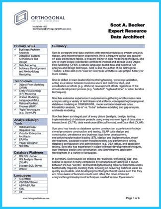 data analyst resume excel