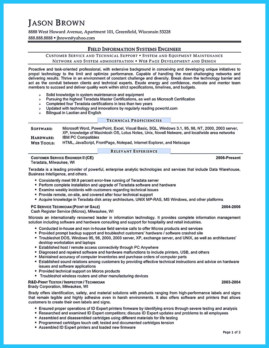 business intelligence resume pdf