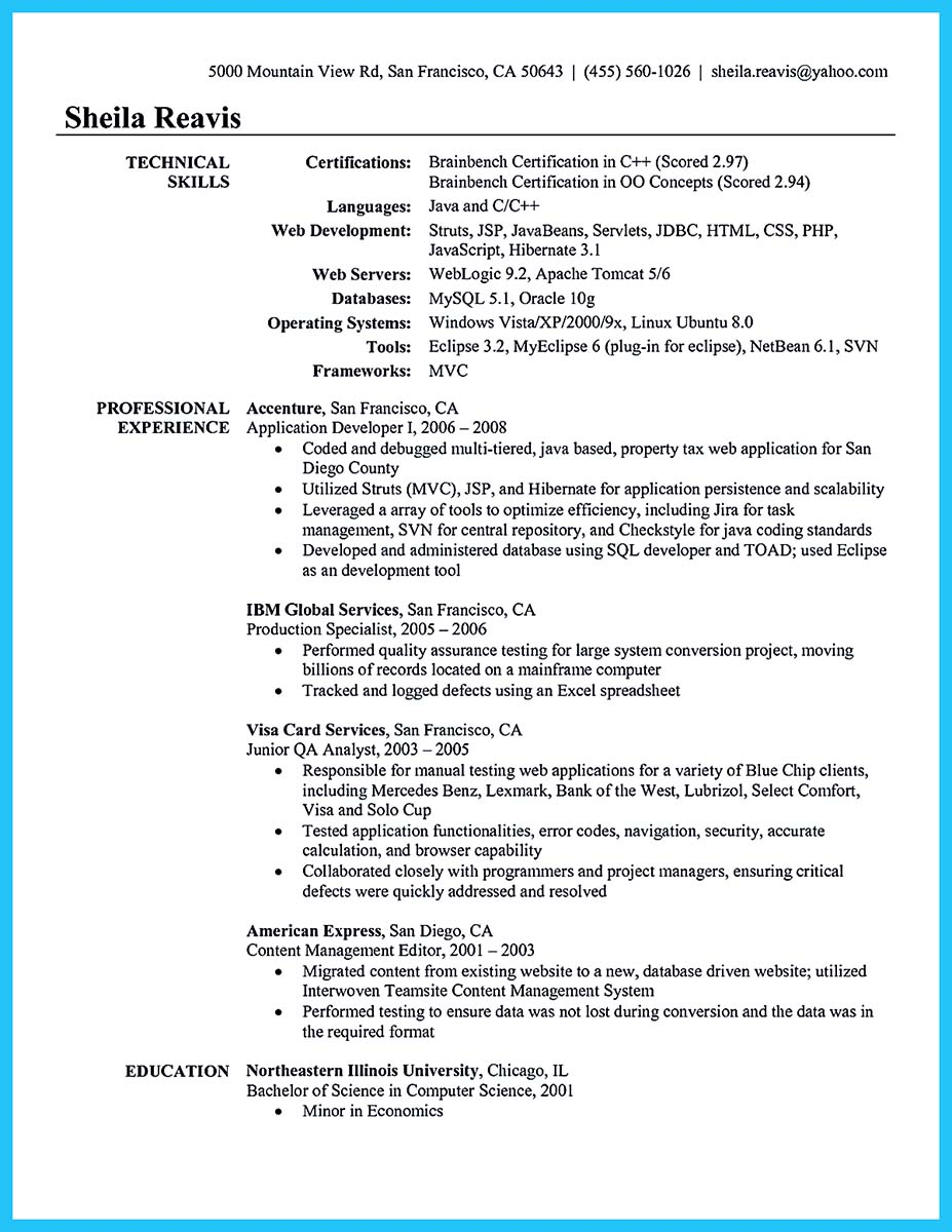 database developer resume pdf - Database Developer Resume