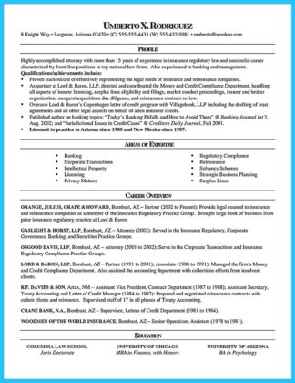 Arranging a Great Attorney Resume Sample  %Image Name