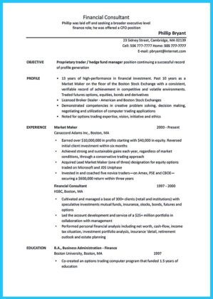 emory business school resume